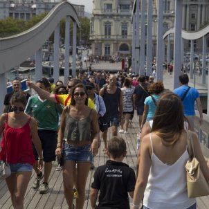 Turistes Barcelona - Mar Sanchez