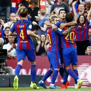 Barça Betis celebració gol - EFE