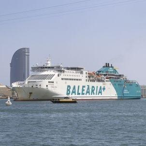 vaixell balearia port Barcelona - mar sanchez