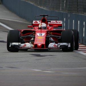 Sebastian Vettel Fórmula 1 GP Singapur Efe