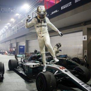 Lewis Hamilton GP Singapur Fórmula 1 Efe