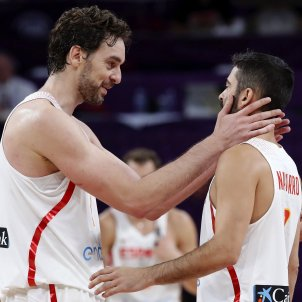 Juan Carlos Navarro Pau Gasol Eurobasket 2017   EFE