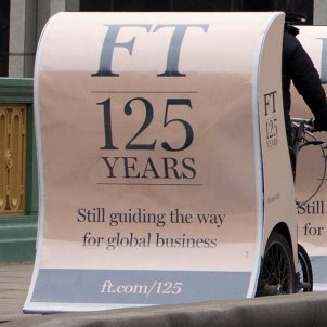 Financial Times 125th Anniversary Pedicabs (8472370263)