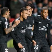 Cavani Neymar Alves Mbappé PSG Efe