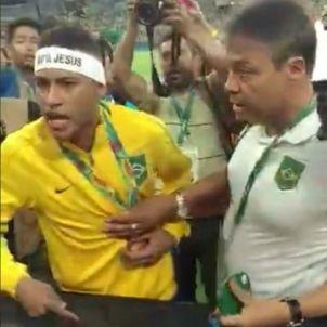 Neymar esbroncada Jocs Olímpics Rio 2016 Revistaceara