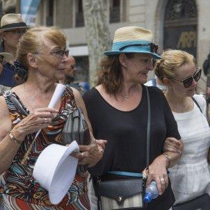 turistes rambles - mar sanchez