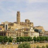 Lleida   La Seu Vella (des de Cappont)