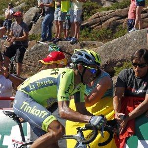 Alberto Contador Vuelta Espanya 2016 Efe