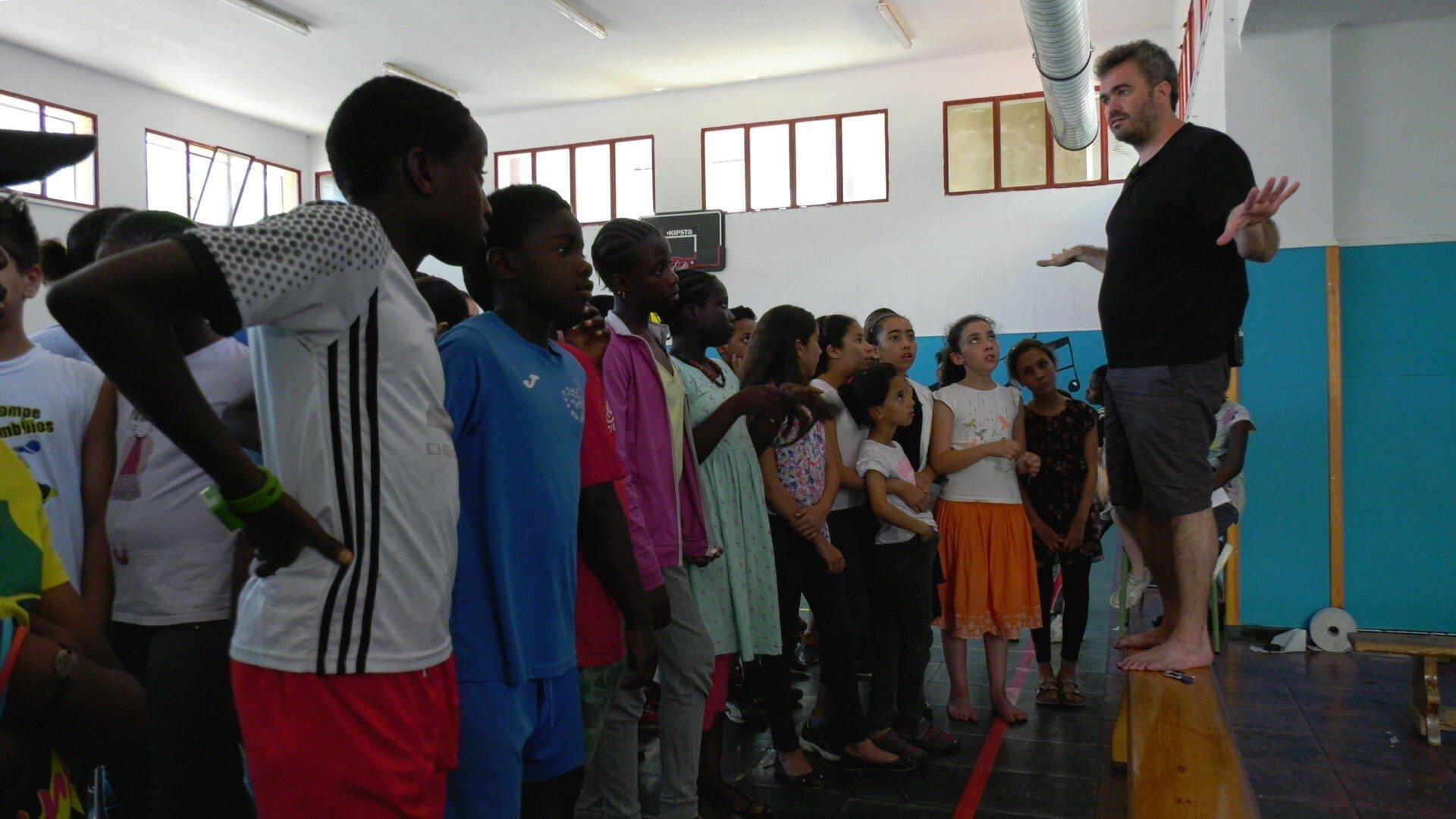 a tempo art escoles  Temporada Alta  Xavi Bobé