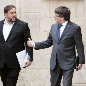 Junqueras Puigdemont EFE