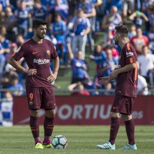 Leo Messi Luis Suarez Barça Getafe   EFE
