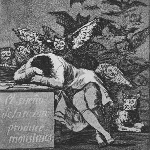 Goya   Caprichos (43)   Sleep of Reason