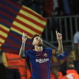 Leo Messi Barça Eibar Efe