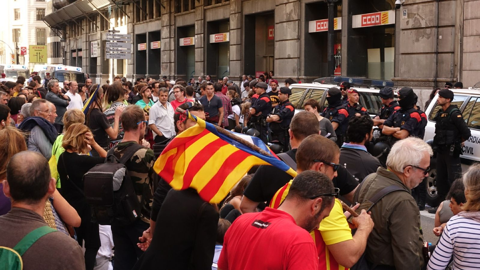 Concentració i mossos / RL