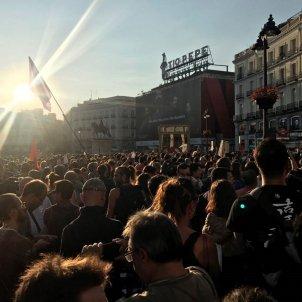 Manifestacio Madrid referendum Estefania Molina