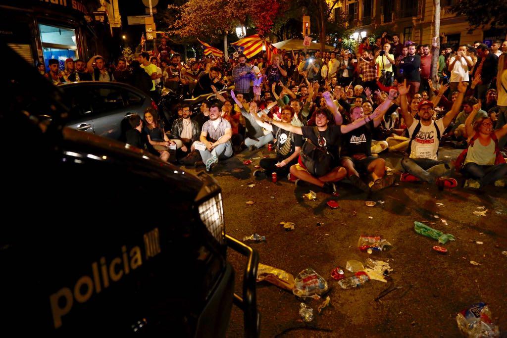 mossos concentracio economia 20S - sergi alcazar