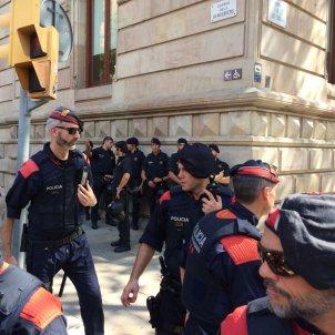 Reforç policial dels Mossos / MM