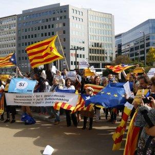 Manifestació Brussel·les - ACN