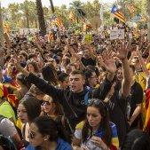 Concentració referèndum Arc de Triomf llibertat detinguts - Sergi Alcàzar