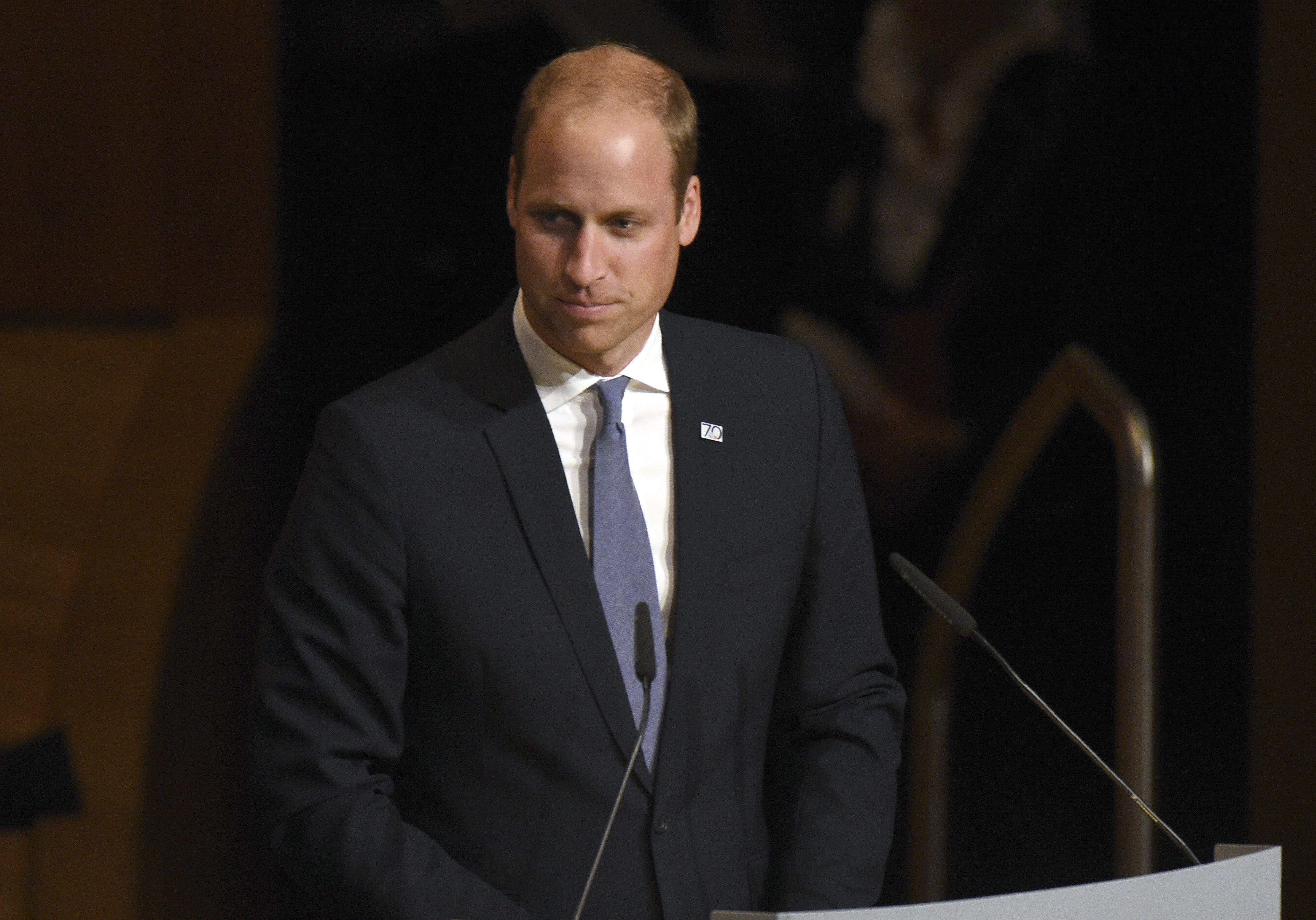 Príncipe Guillermo Inglaterra Reino Unido - EFE