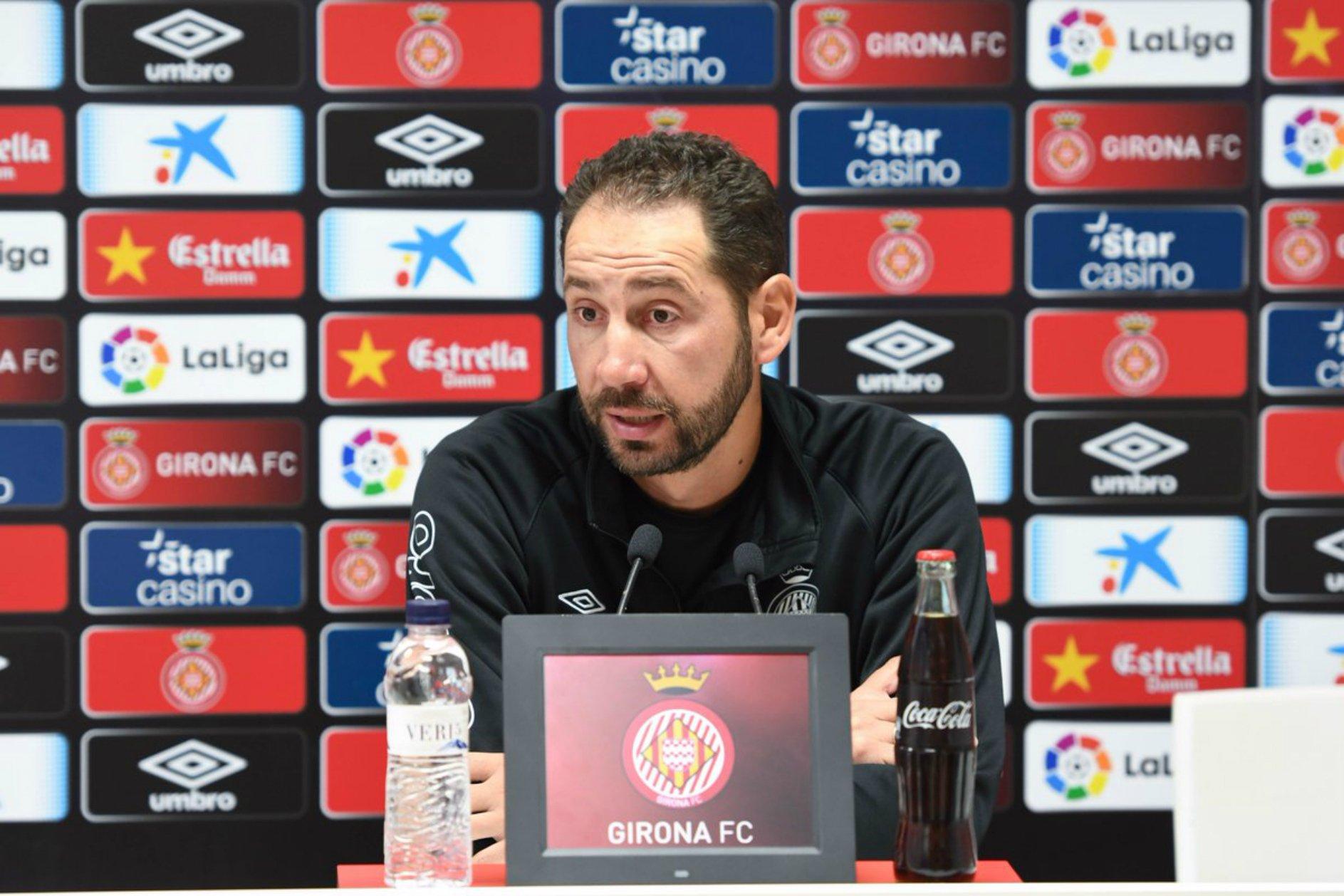 Pablo Machin roda de premsa   Girona FC