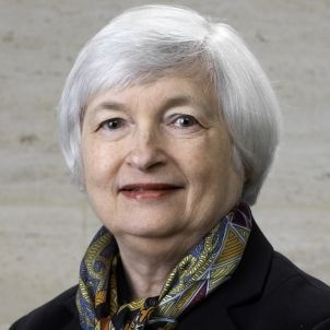 Janet Yellen official Federal Reserve portrait