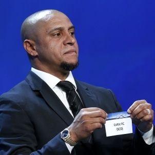 Roberto Carlos Sorteig Champions League Efe