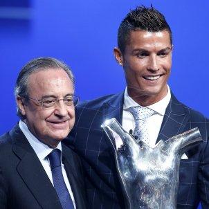 Florentino Pérez Crisitano Ronaldo Sorteig Champions League Efe