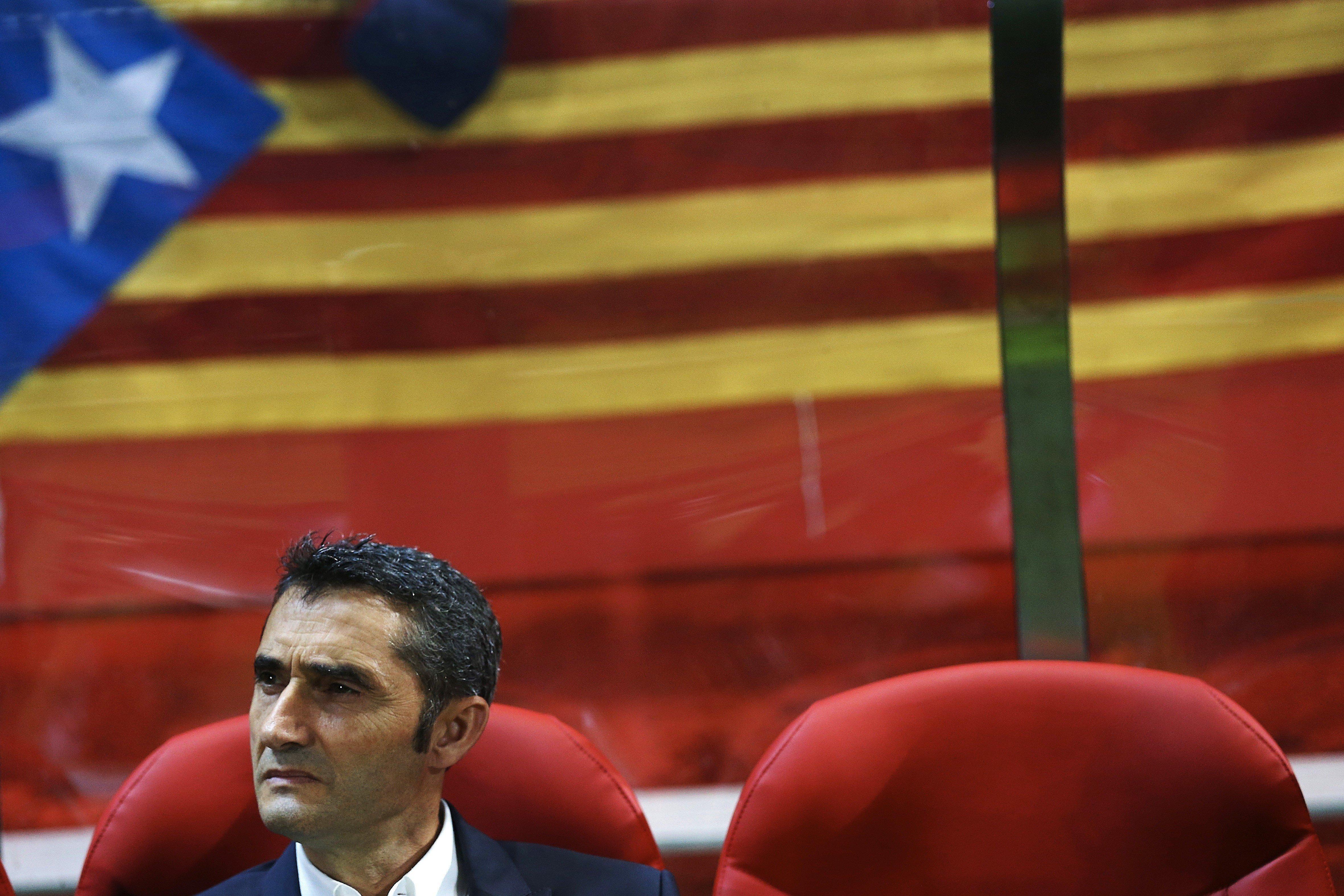 Ernesto Valverde Barça Girona Estelada Efe