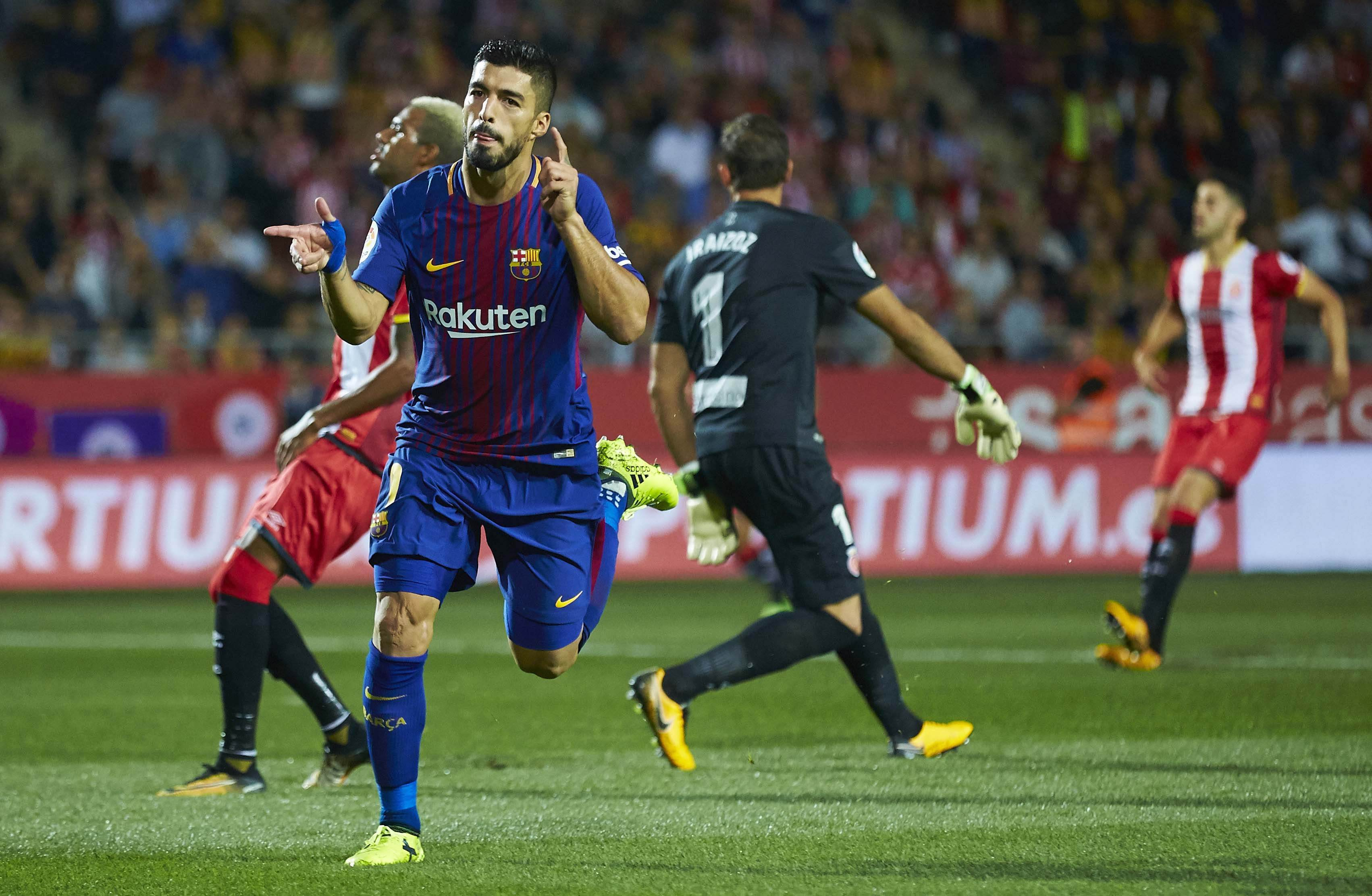 Luis Suarez gol Barça Girona   EFE