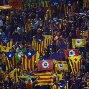 estelades barça girona bandera catalunya   EFE