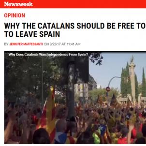 catalunya   newsweek