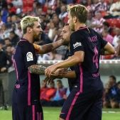 Leo Messi Rakitic Jordi Alba Athletic Club Barça Efe