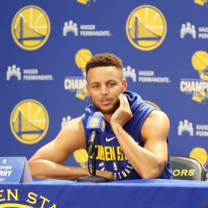 Stephen Curry Golden State Warriors   EFE