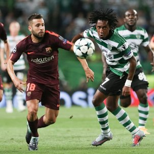 Jordi Alba Barça Sporting Efe