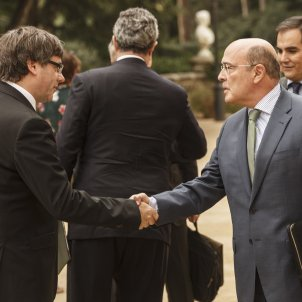 Puigdemont De los Cobos Junta de seguretat - Sergi Alcàzar