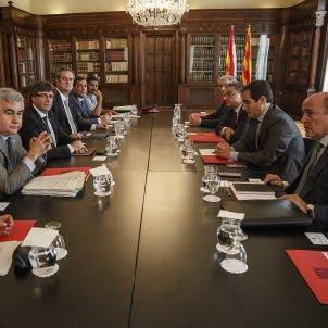 Puigdemont De los Cobos Forn Trapero Millo Nieto Junta de seguretat - Sergi Alcàzar