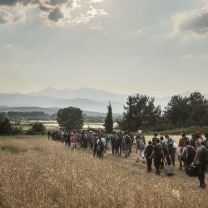 refugiados grecia macedonia / EFE