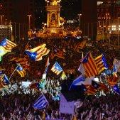 Independencia estelades bandera acte final campanya referendum monjuïc - Sergi Alcàzar