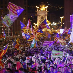 public acte final referendum montjuic - sergi alcazar