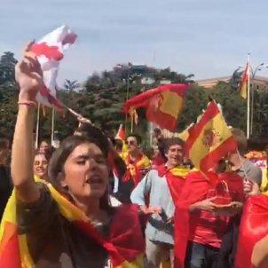 adolescents cara al sol Madrid