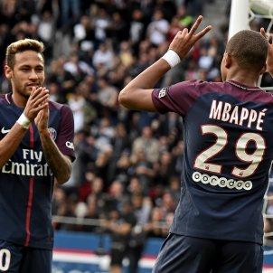 Neymar Mbappe PSG EFE
