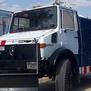 camió canons aigua