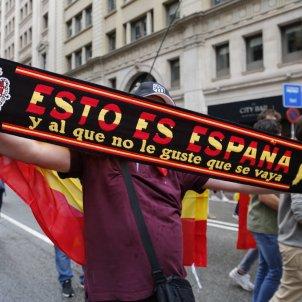 Manifestació espanyolista Barcelona contra l'1-O / Sergi Alcàzar