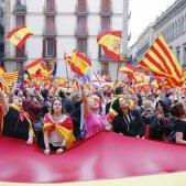 Concentració unionista plaça sant Jaume - Sergi Alcàzar