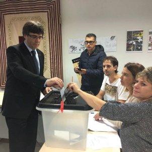 Puigdemont referendum EFE