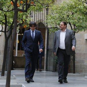 Primera reunió de Govern a la Generalitat amb el nou govern de