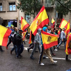 manifestacio ultra barcelona maria macia