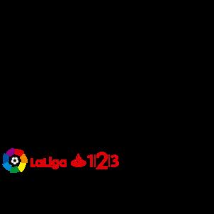 La Liga 1,2,3 Logo izq