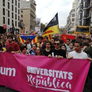 Manifestació estudiants Barcelona / Marc Bleda